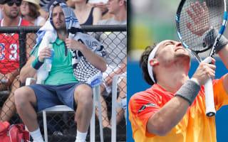 Australian Open: Baby drama and Gulbis, Fognini entertain