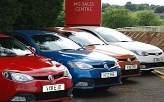 Drive an MG6 away from the factory for £500