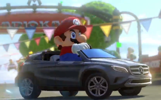 Mercedes injects some style into Mario Kart