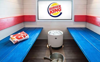 Burger King opens a spa in Finland