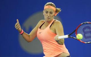 Kvitova back on court with French Open on the horizon