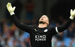 Kasper Schmeichel at Man Utd would be 'a dream' for dad Peter