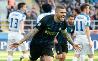 Icardi hits perfect nine-minute hat-trick for rampant Inter