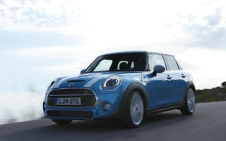 Mini unveils five-door hatchback