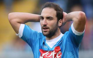 Higuain a doubt for Napoli