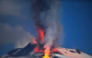 Mount Etna erupts, lava reaches 5,000m into the sky