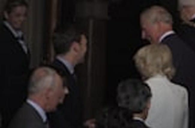 Charles and Camilla meet staff and emergency services at Manchester Arena