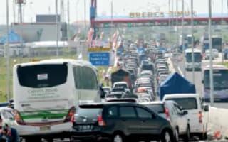 Twelve people die in Indonesian traffic jam at junction called 'Brexit'