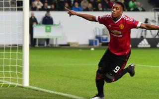 Martial even better than expected - Van Gaal