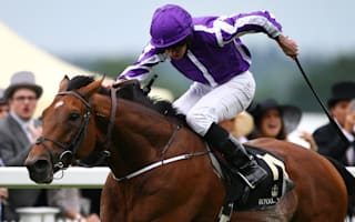 Moore claims Royal Ascot treble, late birthday present for Queen