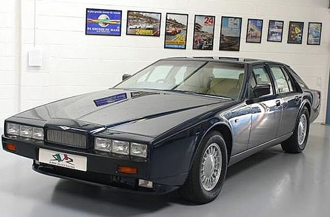 Incredibly rare 1991 Aston Martin Lagonda is up for sale