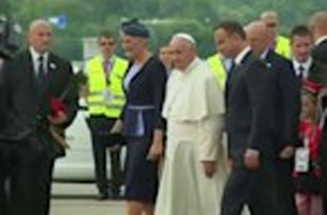 Pope in Poland for 'Catholic Woodstock'
