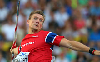 Former Olympic champion Thorkildsen ends javelin career