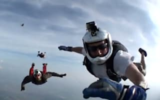 Horror as skydiver knocked unconscious during 12,500ft jump