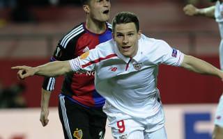 Sevilla 3 Basel 0 (3-0 agg): Gameiro double sees holders through