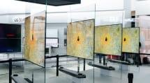 Las LG OLED TV W son tan delgadas que se montan en la pared con soportes magnéticos