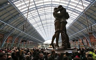 St Pancras Station voted one of the world's most romantic places