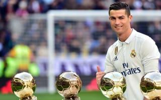 Brazil's Ronaldo endorses Cristiano's Ballon d'Or triumph