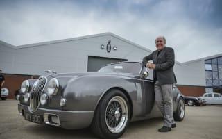 Jaguar designer reimagines classic Jaguar Mark II