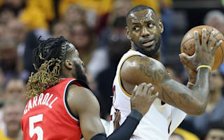 LeBron leads Cavs to 2-0 lead over Raptors