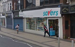 Google Street View captures shoplifter