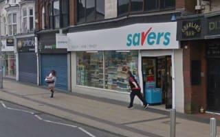Google Street View captures shoplifter