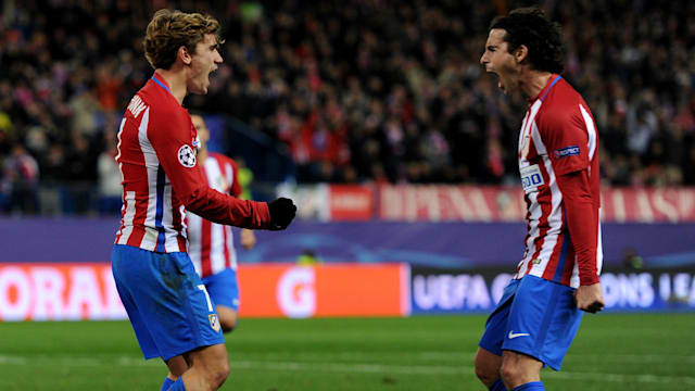 Griezmann happy in Madrid