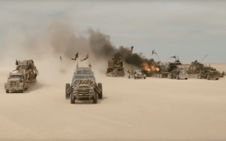 Video shows behind the scenes of Mad Max: Fury Road