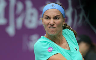 Suarez Navarro's Singapore chances up in smoke, Kuznetsova still alive