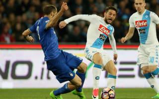 Chiellini: Napoli have best attack in Serie A