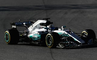 Bottas lays Mercedes marker with fastest time of 2017 testing