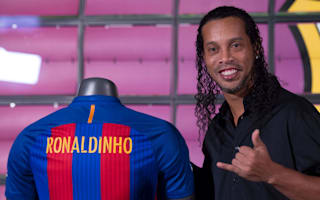 Ronaldinho to play Barca-Madrid 'legends' match in Lebanon