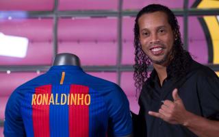 Ronaldinho to play Barca-Madrid 'legends' match in Lebanon