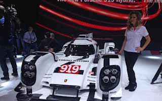 Porsche reveals 919 Hybrid Le Mans car