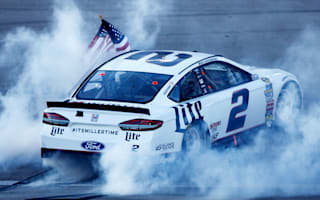 Keselowski claims Kobalt 400 on late pass