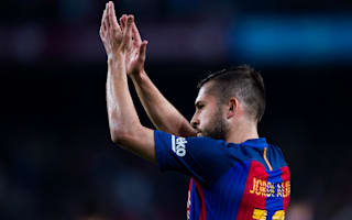 Alba glad to move on from Luis Enrique as he looks forward to Valverde tenure