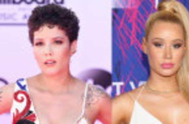 "Halsey Calls Iggy Azalea A ""F**king Moron"" & REFUSES To Apologize"