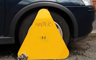 Vehicle clampings rise following removal of tax discs