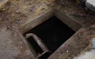 Man uncovers WW2 air raid shelter beneath driveway