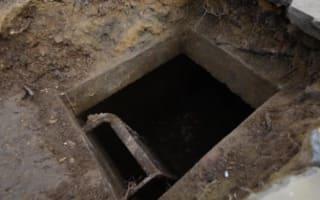 Man uncovers WW2 air raid shelter beneath driveway