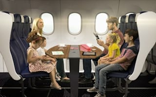 Thomson Airways unveils plans for family booths and couples' pods on planes