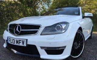 Ex-Jamie Vardy Mercedes-Benz C63 AMG goes on sale