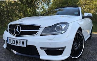 Ex-Jamie Vardy Mercedes-Benz C63 AMG goes on sale