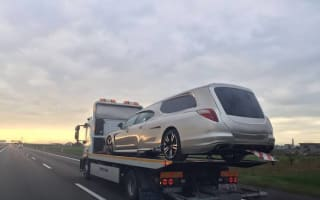 Bizarre Porsche Panamera hearse spotted in Italy