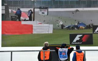 Ericsson shunt mars FP3 at Silverstone