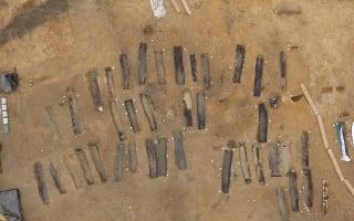 81 'rare' Anglo Saxon coffins found in Norfolk