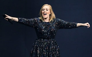 Adele wins album of the year at BBC Music Awards