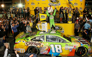 Kyle Busch becomes NASCAR champion