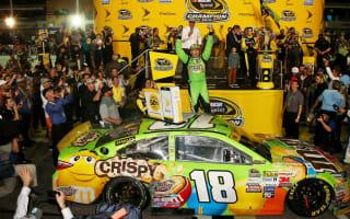 Kyle Busch becomes NASCAR champion