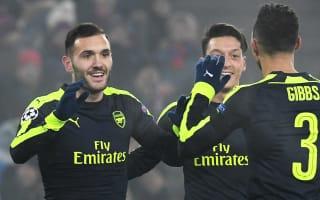 Basel 1 Arsenal 4: Lucas hat-trick helps Gunners clinch top spot